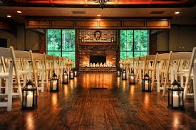 Gorgeous Lanterns Lining The Aisle For A Cozy Indoor Fall Wedding Would Look Awesome Outside Too