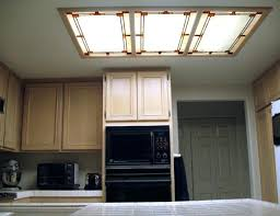 fluorescent kitchen light fixture convert that recessed