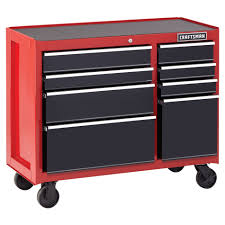 100 Sears Truck Tool Boxes Craftsman 41 8Drawer HeavyDuty Rolling Cabinet RedBlack