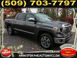 Pre-Owned 2018 Toyota Tundra Platinum 1794 5.7L V8 4x4 Truck CrewMax ...