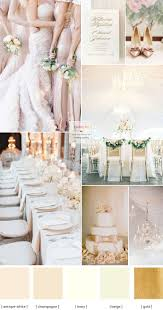 Champagne wedding colors Elegance Wedding Palette }