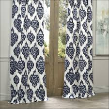 Grey And White Chevron Curtains 96 by Living Room Navy And White Ikat Curtains 60 Inch Wide Curtains
