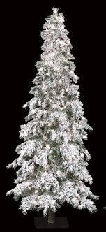7 Flocked Carolina Pine Tree