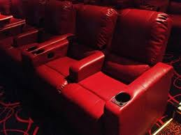 New Reclining fy Seats At The AMC Theater At 84th And