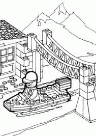 Lego Train Coloring Pages 16 For Kids To Print And Color