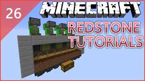 Pumpkin Farm Minecraft Observer by Minecraft Redstone Tutorial 26 Fix Auto Pumpkin U0026 Melon Farm
