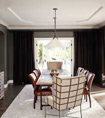 Impressive Dining Wing Chair Transitional Dining Room ...