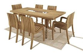 7 Piece Patio Dining Set Canada by Dining Room Hartland 7 Piece Wood Dining Set In Ivory Plus
