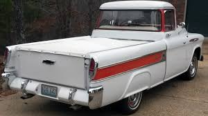 1957 Chevrolet Cameo Pickup | K72.1 | Kissimmee 2016 1956 Chevrolet Cameo For Sale Classiccarscom Cc794320 1955 Chevy Truck Rear 55 59 1958 Pickup Start Run External Youtube Cameo Gmc Trucks Antique Automobile Club Of 1957 Chevy Truck Hot Rod Network F136 Monterey 2012 Pick Up Truckweaver Al Mad Flickr Rm Sothebys The Wiseman God Ertl 118 3100 White 7340 New American Street Feature Tom Millikens 56 Is Done Right