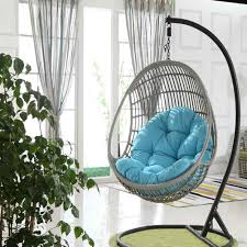 ei schaukel sitzkissen hängenden korb kissen verdicken hängen stuhl sitz pad terrasse wohnzimmer schaukel stuhl kissen keine stuhl