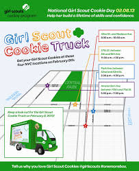 Girl Scout Blog: Hey New York - Check Out The National Girl Scout ... Limited Edition Cookie Jar Truck Ecommerce Beekman 1802 Nyc Momofuku Milk Bar Holiday Giveaway Via This Weeks Schedule Is Monday 58 Hot Facebook Lego Ideas Welcome To Cupboard Gourmet Dough Notasfamous Atlanta Gourmet Cookie Truck In Metro Area We Build Your Own Chincoteague Island Restaurant Reviews Edible Art The Bumblebee Food On Behance Monster 100 Cutter Set Americas Best Racing Youtube Rochester Will Have Its First Ever