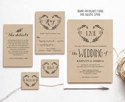 Rustic Wedding Invitation Templates Uk Awesome The 25 Best Free Ideas On Pinterest