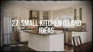 Small Kitchen Designs With Island 27 Small Kitchen Island Ideas