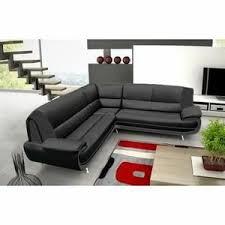 divan canapé canapé sofa divan canapé d angle reversible noir