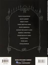 Danny Elfman This Is Halloween Piano by Tim Burton U0027s The Nightmare Before Christmas Big Note Piano Danny