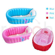 summer portable baby kid toddler inflatable bathtub newborn thick