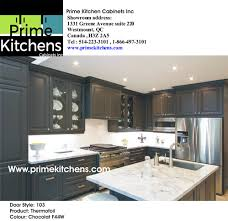 Thermofoil Kitchen Cabinets Online by Thermofoil Doors Kitchen Cabinets In Montreal