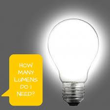 how many lumens do i need 1000bulbs