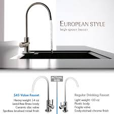 Ge Reverse Osmosis Faucet Brushed Nickel by Ispring Rcc7 Wqa Gold Seal Certified 5 Stage Reverse Osmosis