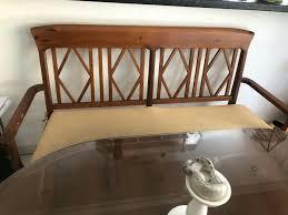 esszimmer 4x stühle und 1 sitzbank mit kissen landhausstil