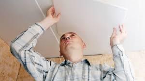 placer des dalles de plafond gamma be