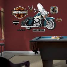 Harley Davidson Classic Transportation Wall Decals