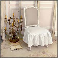Shabby Chic Dining Room Chair Covers by Dining Room Chair Cushions With Ties