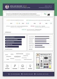 Free Modern Resume PSD Template