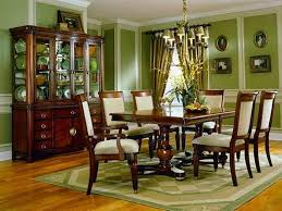 Dining Room Wallpaper Design With Green Full