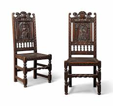 A PAIR OF LATE VICTORIAN OAK SIDE CHAIRS | CIRCA 1900 ...