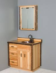 Rustic Medicine CabinetsOur Cabinets Put The Finishing Touches To Any Bathroom We Build Them In Log Barnwood And Hickory Style