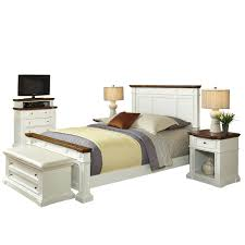 Queen Bed Stand by Home Styles 5002 5030 Americana Queen Bed Two Night Stands Media