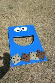 Bean Bag Toss Kids Cookie Monster Rules