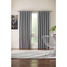 120 Inch Long Sheer Curtain Panels by Curtains U0026 Drapes Window Treatments The Home Depot