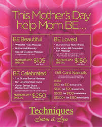 Let Mom BE This Mothers Day With One Of Our Custom Spa Packages Embedded Image Permalink