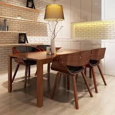 4 x esszimmer stuhl stühle sessel esszimmerstühle holzrahmen