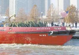 Coast Guard Charities Re Enact Story Of The Christmas Tree Ship