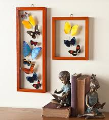 Butterfly Collages Featuring Real Butterflies Wall ArtDiy