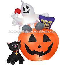 Inflatable Halloween Cat Archway by Airblown Halloween Inflatable Pumpkin Airblown Halloween