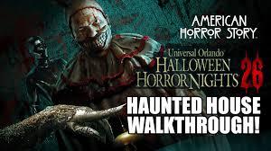 Halloween Theme Park Uk by American Horror Story Haunted House Walkthrough Halloween Horror