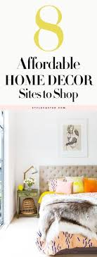 8 Affordable Home Decor Sites Every Girl Should Know About