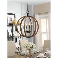 chandelier farmhouse style kitchen lighting farmhouse table