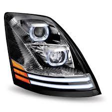 100 Semi Truck Led Lights VNL LED Headlight Volvo LED