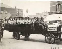 100 Packard Trucks Band In 1908 Truck Oldsmobile Reunion DPL DAMS