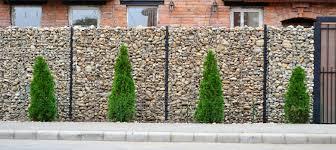 mur de separation exterieur le mur de clôture gabion