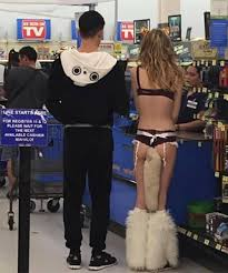 Crazy Dressers At Walmart by The Fox And The Hound Fuzzy Boots And Long Tail At Walmart