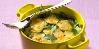 cuisiner le basilic gratin de courgettes au basilic facile et pas cher recette sur