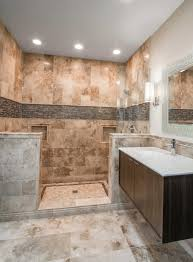 Tile Designs For Bathroom Walls by Bathroom Shower Focal Point Wall Tile Australia Canberra Stria