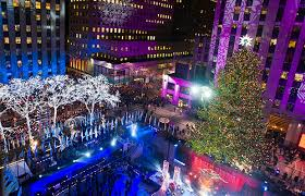 Rockefeller Center Christmas Tree Lighting 2014 Live by Christmas Tree Lighting In Nyc 2014 Rainforest Islands Ferry