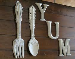 Wood Fork And Spoon Wall Hanging by Knife Fork And Spoon Metal Wall Art The Best Spoon In 2017